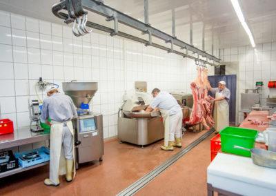 Fleischerei Leiste - Produktion