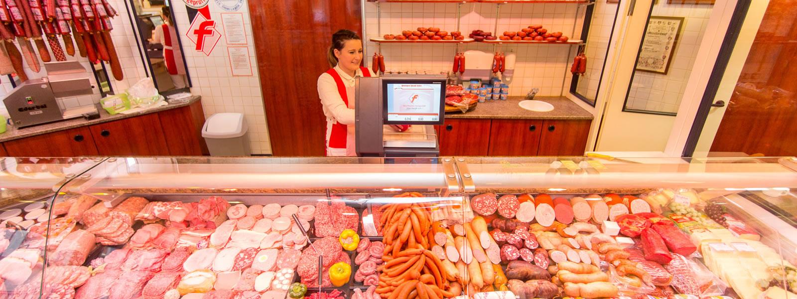 Fleischerei Leiste - Verkauf